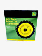John Deere Rubber Tire Thermometer Wall/desk -new - Sku-h
