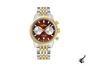 Delma Racing Continental Automatic Watch Brown 42 Mm 52701.702.6.101