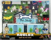 Sealed Roblox Celebrity Collection - Adopt Me Pet Store Deluxe Playset 40 Pcs
