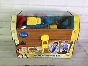 Disney Jake And The Neverland Pirates Treasure Chest Accessories Toy Play Set