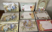 Winnie The Pooh Photo Christmas Cards W/envel. Michel And Co. Huge Card Lot