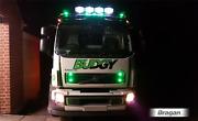To Fit 2006+ Volvo Fl Truck Stainless Roof Bar A + Led + Spot + Beacon + Airhorn