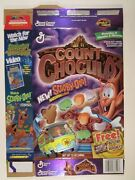1999 Mt Cereal Box Count Chocula New Scooby Doo Marshmallows [y156c2]