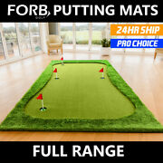 Forb Home Golf Putting Mats [5 Styles] | Portable Putting Practice Golf Mats