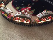 2 New Bright Holiday Express 380 - 2 Wire Candy Dancer Cars. Poor Mans Train.