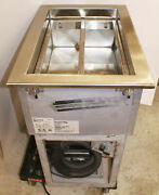 Randell Drop In Refrigerated Cold Pan Insert Food Well 9918sca Stainless Steel