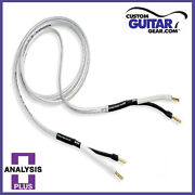 Analysis Plus Silver Oval Two Speaker Cables12 Gauge 8ft Bi-wire Pair