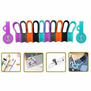Sunficon 10 Pack Cable Organizers Clips Earbuds Cords Magnetic Bookmark Fridge
