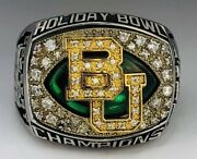 🏈 2012 Baylor Bears Holiday Bowl Champions Ncaa Football Championship Ring