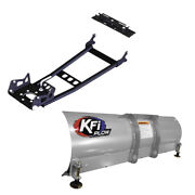 Kfi Atv Hybrid Snow Plow System With 54 Blade For 1998-2001 Arctic Cat 500 4x4