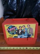Happy Days The Fonz Plastic Lunchbox With Thermos Vintage 1976
