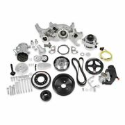 Holley 20-190p Premium Polished Mid-mount Ls7 Complete Accessory System New