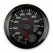 Holley 553-127 Oil Pressure Gauge - Standard 2-1/16 Size - Can New