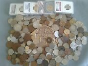 Old Coin Lots World/foreign Coins With Ngc And Anacs Coins Collectibles