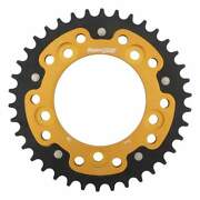Supersprox Stealth Gold Rear Sprocket With 38 Teeth Ducati Monster 797 2017-2018