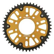 Supersprox Stealth Gold Rear Sprocket With 46 Teeth For Honda Cb900f 1981-1982