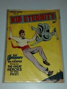 Kid Eternity 4 Vg+ 4.5 Quality Winter Issue Golden Age January 1947