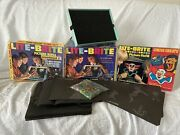 Vintage 1967 Lite-brite Hasbro 5455 With Original Box, Pegs And Picture Refills