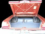 1967 Plymouth Fury Sport Fury Convertible Rubber Trunk Mat Plaid Pattern 67