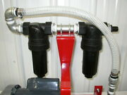 New Dual Cleanable Strainer/filter System,fuel Oil,waste Oil,heater,burner,usa