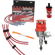 Msd 8352 Ford 289-302 Ready-to-run Dist. Ignition Kit,31189 Wires