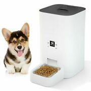 New Automatic Pet Feeder Dog Programmable Animal Food Bowl Timed Auto Dispenser