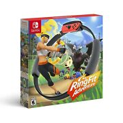 Ring Fit Adventure Standard Edition Nintendo Switch 2019 Game + Accessories