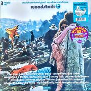 Woodstock - Music From Soundtrack - 3 Lp Set Colored Vinyl New Sealed