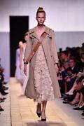 New Dior Bee Embroidered Cotton Trench Coat In Fr 38
