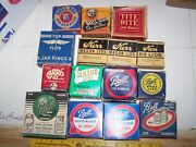 Lot Of Vintage Canning Jar Rings/rubbers Ball Dome Lids Atlas Rings And Lids