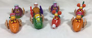 Mcdonalds 1987 Happy Meal Fraggle Rock Henson Muppets Charatcer Cars Lot 8