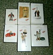 Hallmark A Christmas Story Lot Of 6 Ornaments - Triple Dog Dare, Arms Down, Lamp