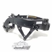 2009 08-16 Yzfr6 Yzf R6 R6r Oem Main Frame Chassis P.a. Salvage Certificate