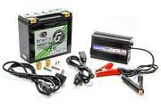 Lithium 12 Volt Battery Green Lite W/charger Braille Auto Battery G20c