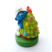 Smurf Pvc Hollow Bip Holland 1999 Tree Christmas 3 5/16in