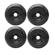 4pc 13x5.00-6 13/500-6 Tire 2 Ply Tractor Lawn Mower Garden Tractor Tires 13x5 6