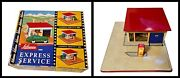 Tin Toy Schuco 1502 Express Service Shell Station - W.germany