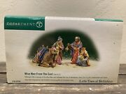 Department 56 Little Town Of Bethlehem Wise Men From The East - 59792 New