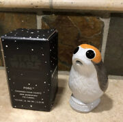 Star Wars Pie Porg Le Creuset 3.25 Tall Collectible Bird Funnel Pie Vent Nwt