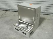 Halsey Taylor Wall Mount Water Cooler Drinking Fountain 8225081641 Damaged