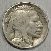 1918-s Buffalo Nickel Fine+ With 3/4 Horn Tough Better Date 0131-03
