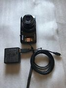 Nikon Coolpix S9500/ 20 Mp / Black Comes With Charger + Battery Tested Works