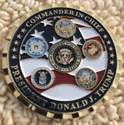 Donald Trump Commander In Chief Challenge Coin