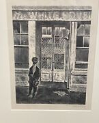 Georges Schrieber Lithograph Titled The White House