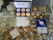 World/foreign Coins With Certificate Coins Gold And Silver Collectibles