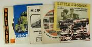 Vintage Toy Railroad Catalog Walthers Steam Westside Atlas Alco Manual Books
