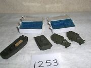 Lot Of N Scale Train Model Military Army Vehicles And Boat 4 Pieces Die Cast Metal