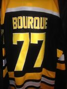 Hockey Jersey Boston Bruins Bobby Orr Cam Neely Gerry Cheevers Ray Bourque