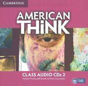 American Think Level 2 Class Audio Cds 3 By Herbert Puchta 9781316500019