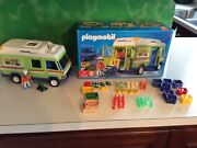 Playmobil Grocery Store Produce Delivery Van 3204, With Original Box